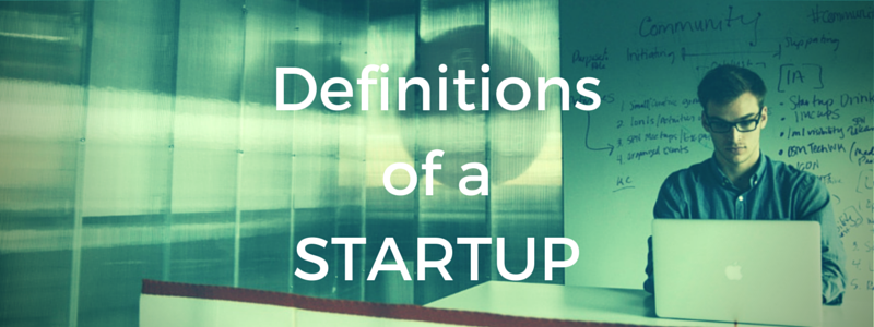 Definitions of a Startup