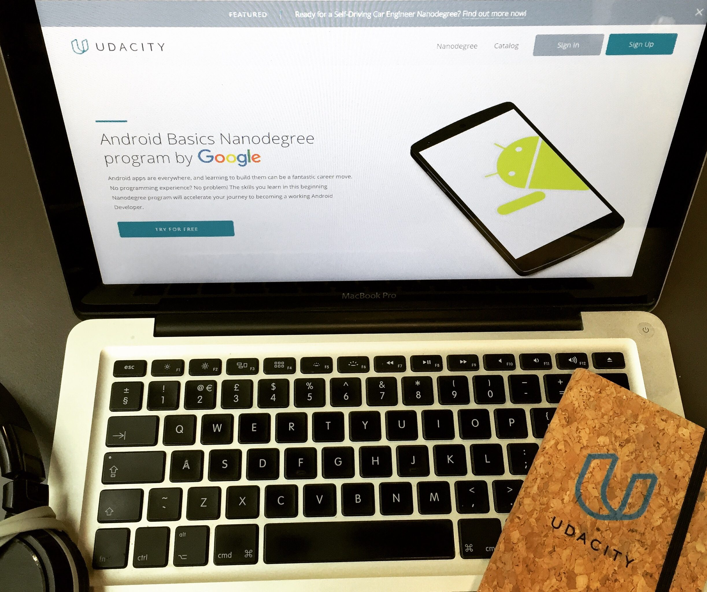 Always Learning – I've Joined Udacity